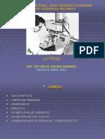 Procesos de Manufactura I - Clase 2 -La Fresa(16 Abril 2013)