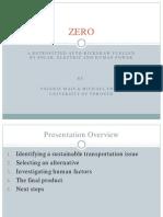 Zero Presentation