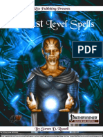 101 1st Level Spells PFRPG v3