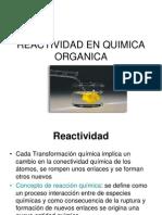 4 Reactividad en Quimica Organica