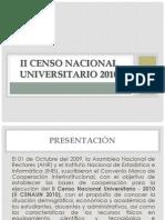II Censo Nacional