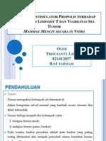 Trisusanty Lihu (Efek Imunostimulator Propolis )