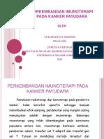 Perkembangan Imunoterapi Pada Kanker Payudara