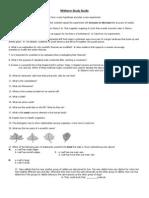 Midterm Study Guide for civics 7th grade