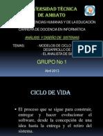 Diapositivas de Ciclo de Vida