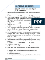 Soal Latihan Mat kelas 2 sd semester 2 (2)
