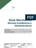 Guia Normativa de MBA Centrum