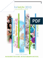 2010_Model UN Conference_Agenda_Consumption, Consequences and Regulation of Psychotropic Substances_12p