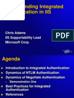 Understanding Integrated Authentication