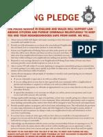Policing Pledge