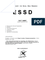 2007_European Society for Social Drug Research_ESSD_Fact Sheet_7p