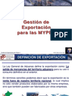 Semana 1 y 2 Gestion de Exportacion Mypes
