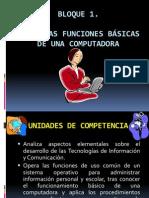 Funciones Basicas de Una Computadora