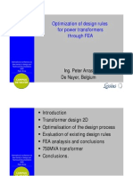 Optimalization Design Rules