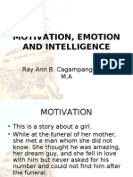 Motivation Emotion and Intelligence
