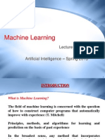 AI Lecture 11 & 12 - Machine Learning