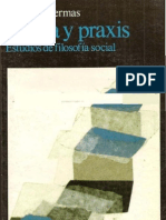 Habermas Teoria y Praxis NOCR