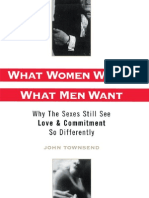 What Women Want What Men Want