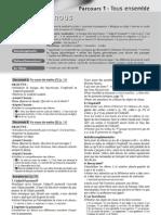 Entrée en matière - Guide pédagogique - Unité 3-4