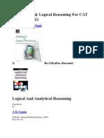 Analitical Logical Reasoning