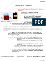 Electrochemistry Notes