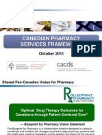 Canadian Pharmacy Services Framework