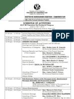 2013 SK CamSur Provincial Congress Schedule of Activities