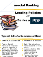 Lending Policies of Indian Banks