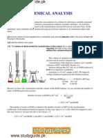 Chemical 20 Analysis
