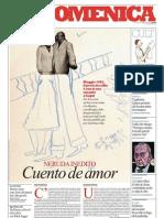Un Pablo Neruda Inedito, Cuento de Amor - La Repubblica 02.06.2013