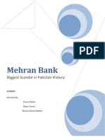 The Story of Mehran Bank
