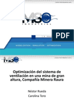 Optimizacion Deventilacion Minera Raura