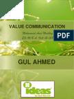 Value Communication - Final