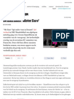 20130529 De Groene Amsterdammer – The Man Next To 'Mister Euro'