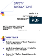 3-FMA- Safety Related Regulations