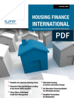 IUHF - Housing Finance International - December 2009