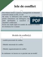 Modele de Conflict