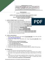 Pengumuman Registrasi PBUD Uin Suska