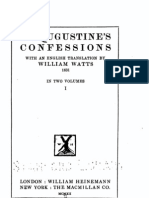 Augustine, Confessions (2 volumes, ed. and tr. Watts, 1912)