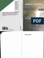 141571865 Bauman Zygmunt Miedo Liquido PDF