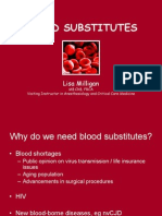 Milligan Blood Substitutes
