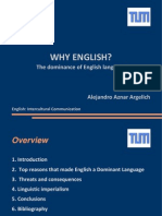 Why English
