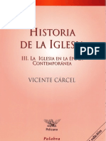 Carcel Historia de La Iglesia Contemporanea
