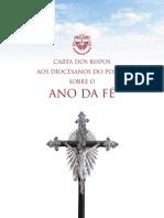 carta dos bispos