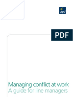 Managing Conflict at Work - A Guide for Line Managers
