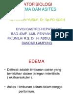PATOFISIOLOGI Edema Dan Asites