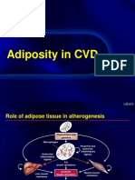 Adiposity in CVD
