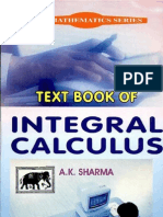 A Text Book of Integral Calculus BY  ak sharma