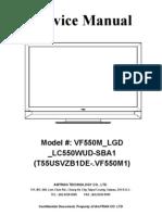 Vf550m_lgd_lc550wud-Sba1 (t55usvzb1de-.Vf550m1) Service Manual