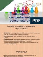 Factori Ce Influenteaza Comportamentul Consumatorului